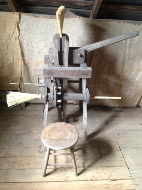 Antique Broom Making Machine Best 2000 Antique Decor Ideas